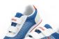 牛津布单鞋!酷高男女大中小宝宝儿童帆布运动鞋真皮球鞋K99 蓝色